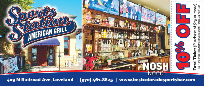 Sports Station, Loveland, CO Coupon Deal