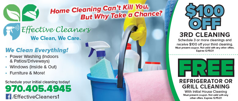 Effective Cleaners - Home Cleaning Service Coupon Deals