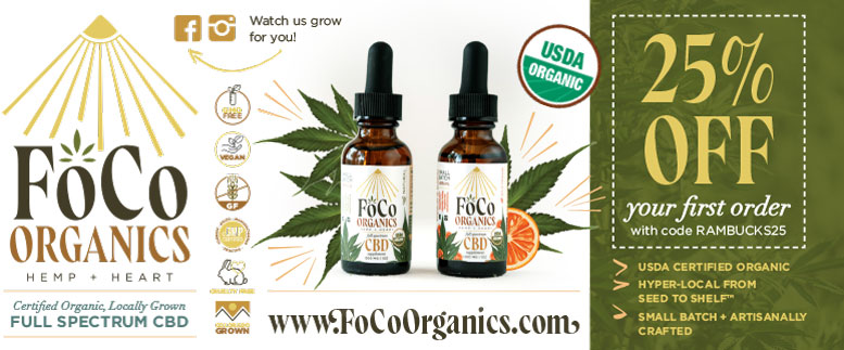 FoCo Organics Hemp & Heart CBD coupon deals in Fort Collins NoCo