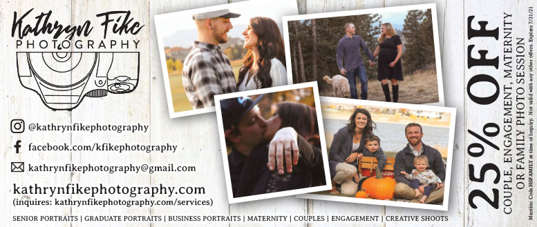 Kathryn Fike Photography, 25% Off Sessions for Couples, Engagement, Maternity or Family.