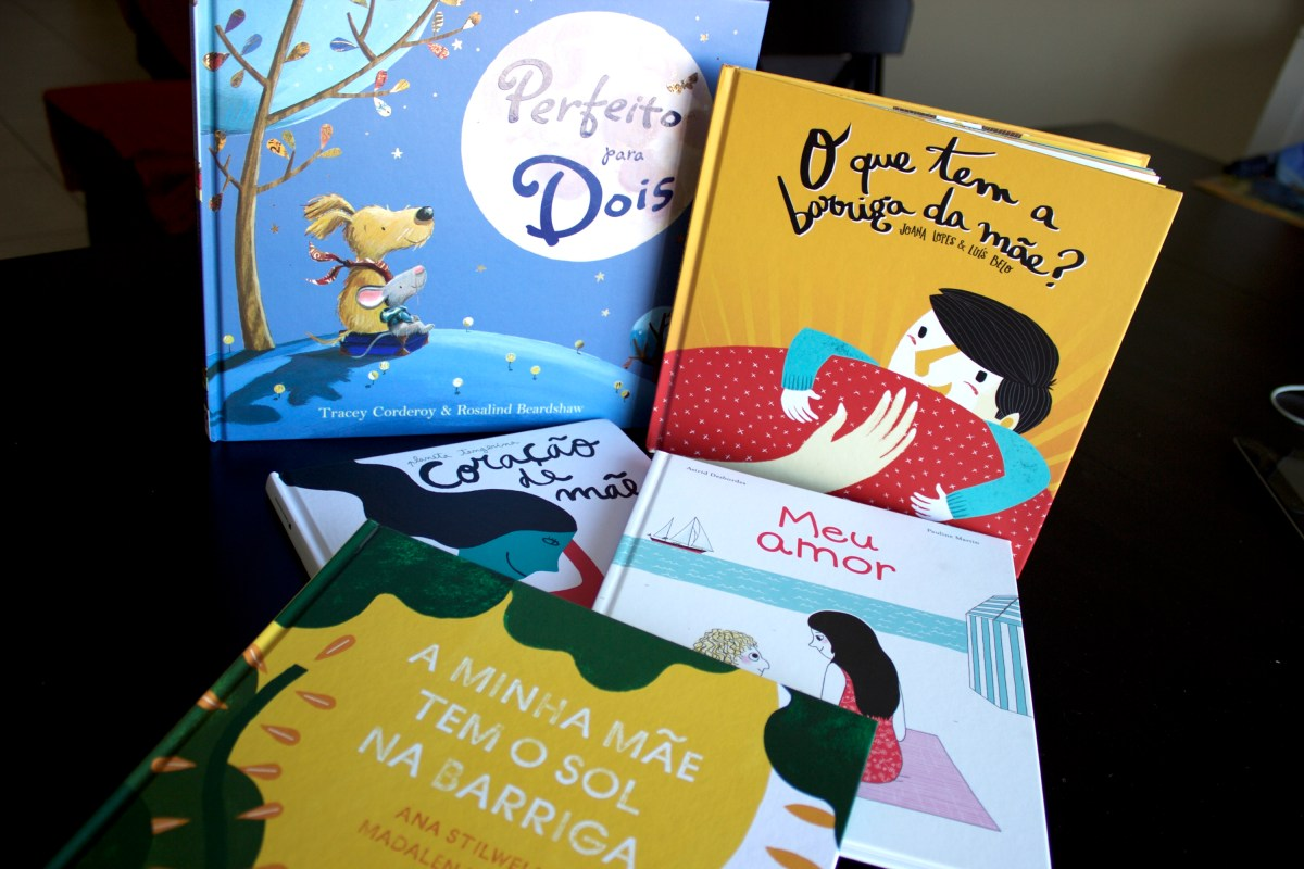 Livros lá de casa #4 - 5 livros para ler ao filho mais velho durante a gravidez
