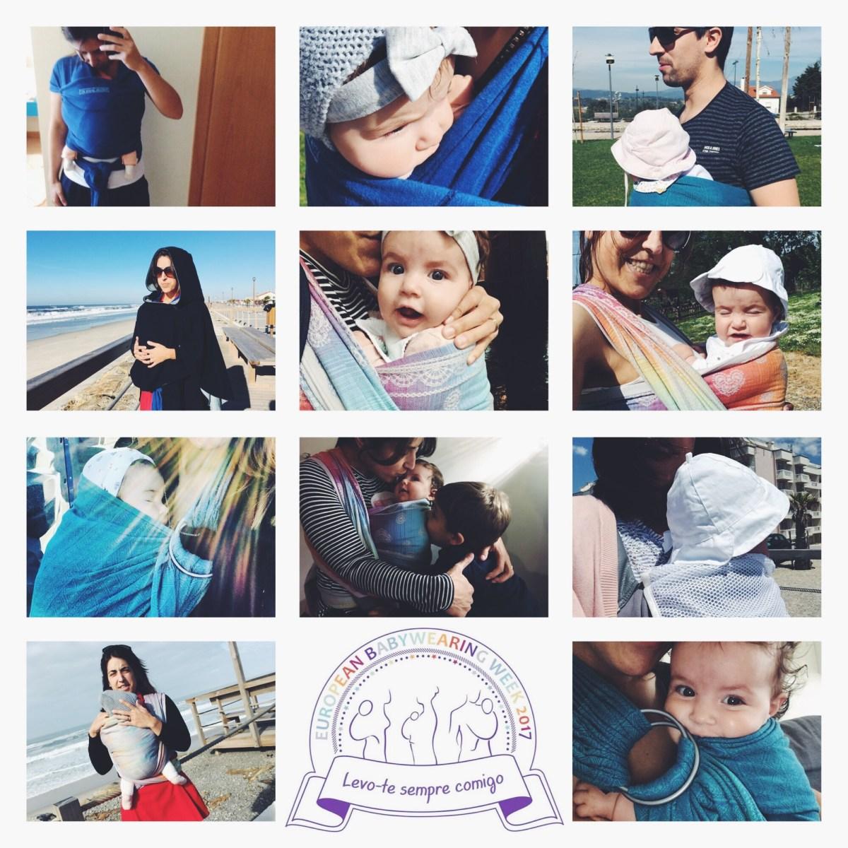 Babywearing em 10 razões