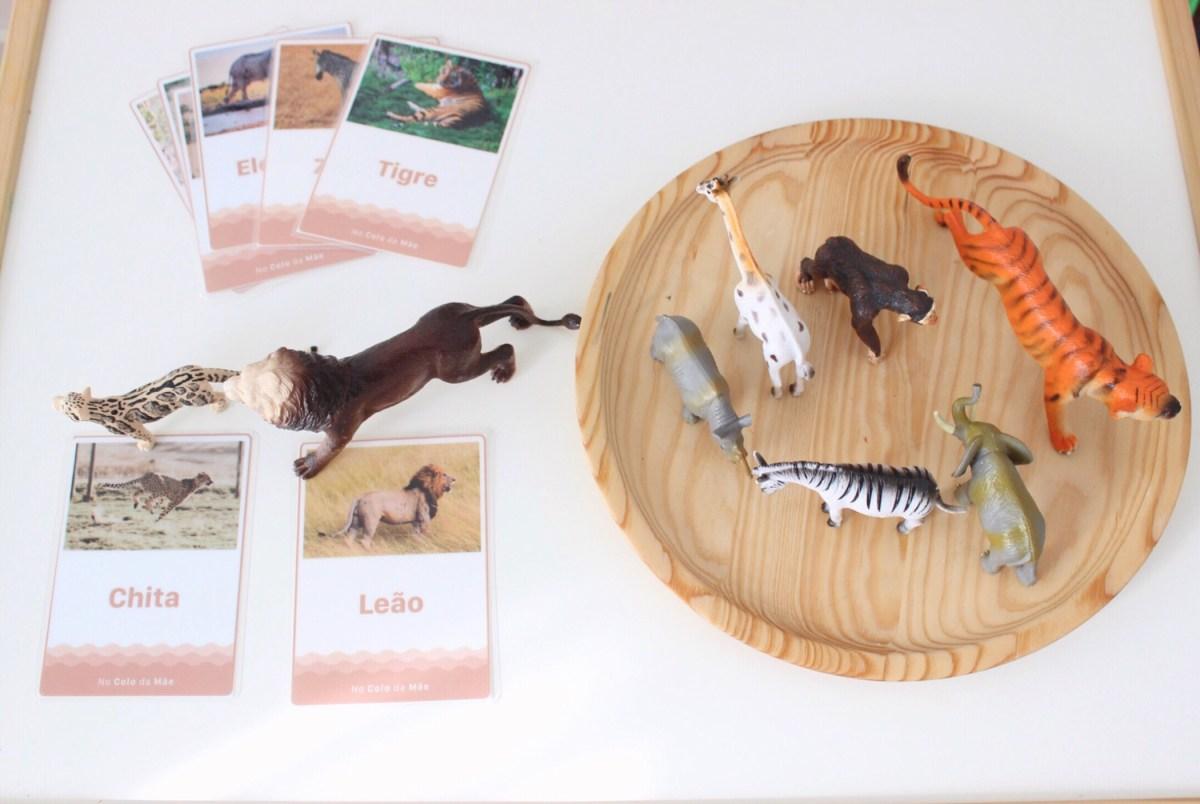 Atividades em casa #23 - cartões de animais