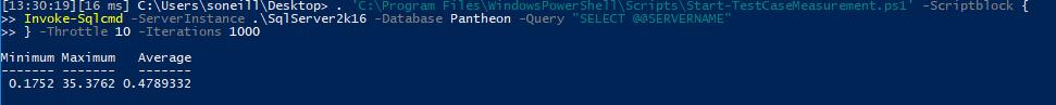 Testing PowerShell Script Speed