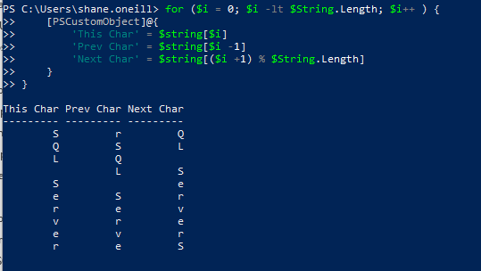 Learning C# methods in PowerShell don't like -1