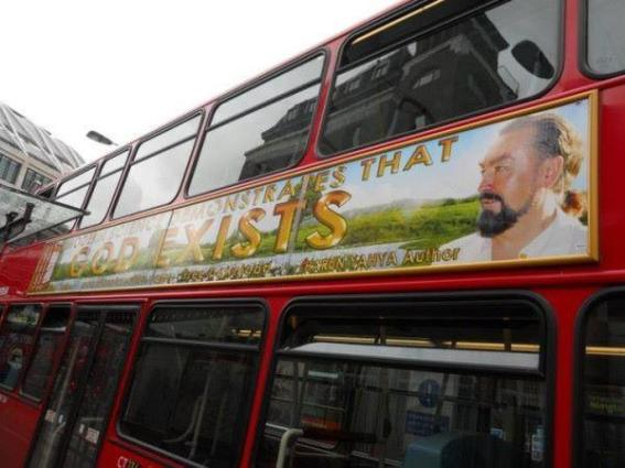 Adnan OKTAR's Works in Everywhere. GOD EXISTS