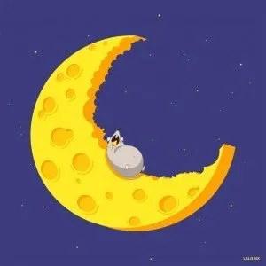raton-comiendo-luna-queso