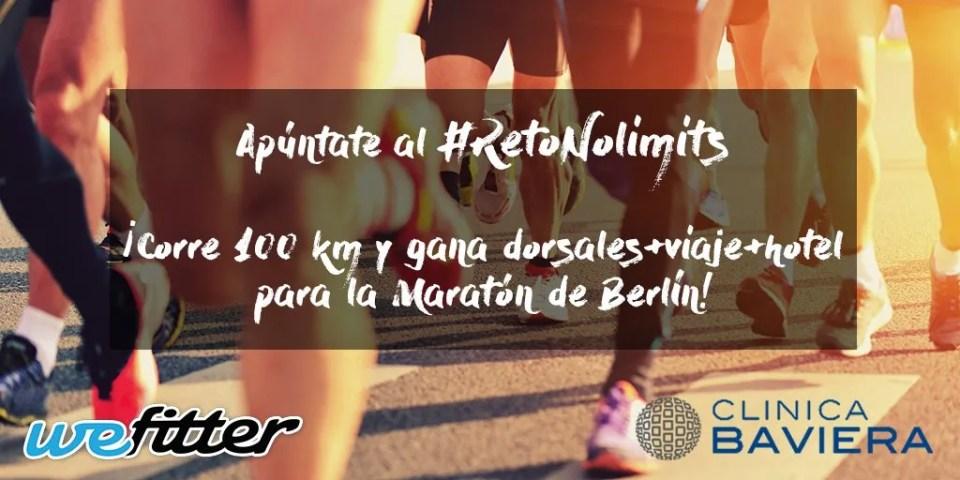 correr primer maratón reto nolimits