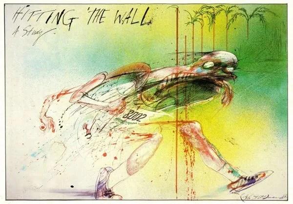 chocar contra el muro