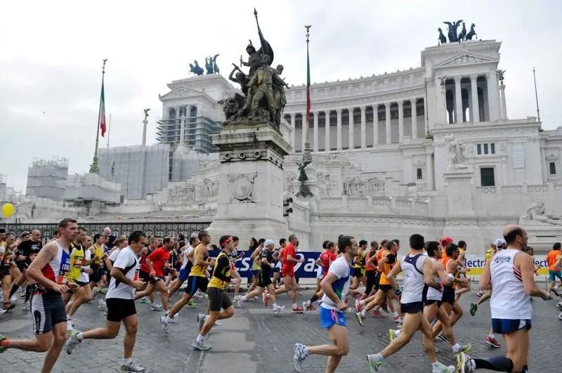 los últimos 195 metros del maratón