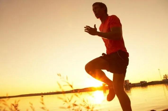calentar antes de correr