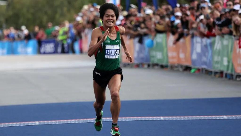 Japón y el maratón como una forma de vida