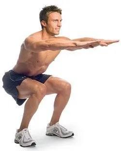 sentadillas ejercicios para correr