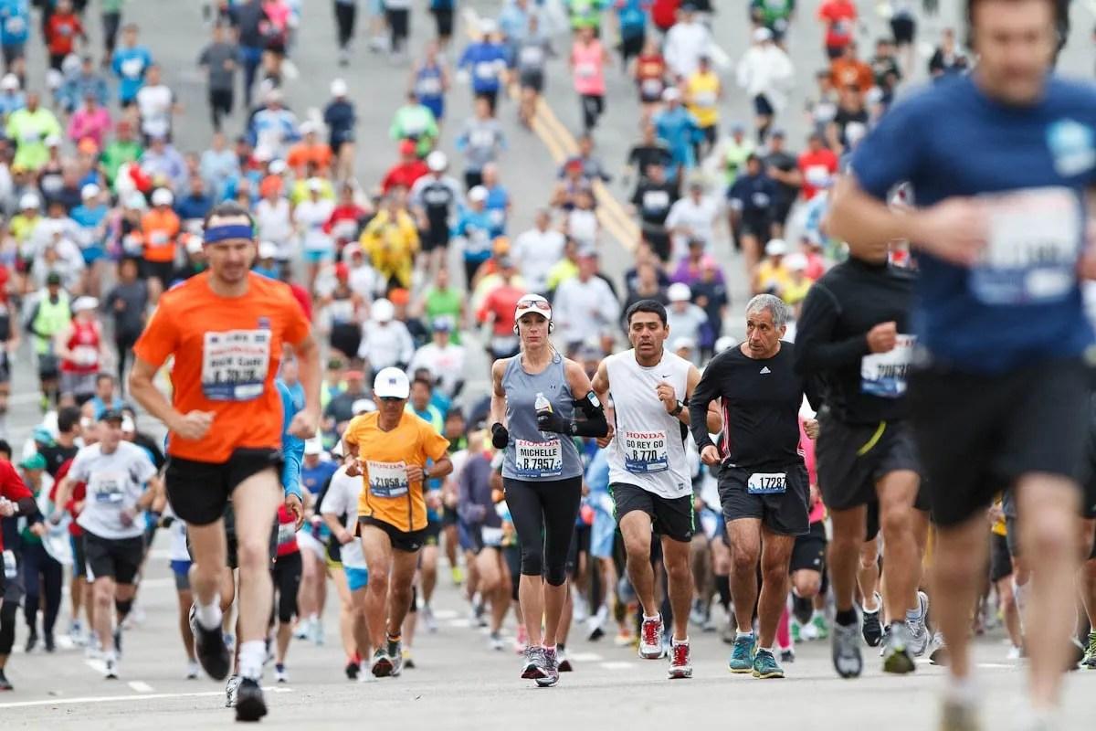 disfruta del maratón
