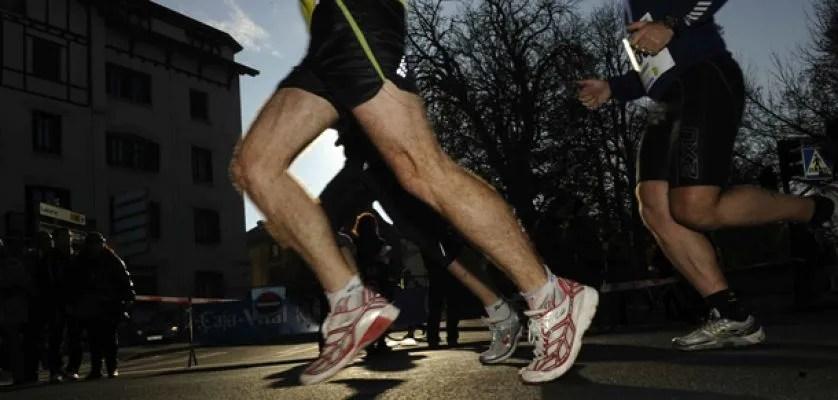 correr de puntillas
