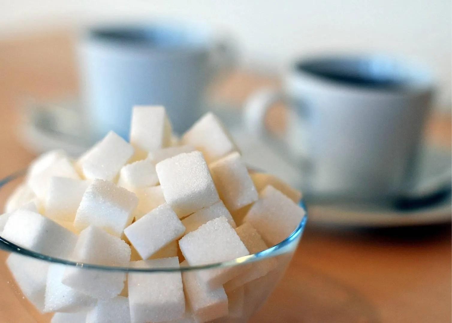 consumo de azúcar diario recomendado