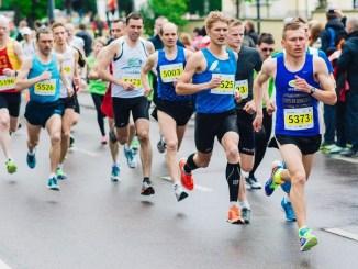 entrenamiento de un maratón