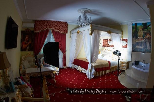 Pałacowe wnętrze - backstage