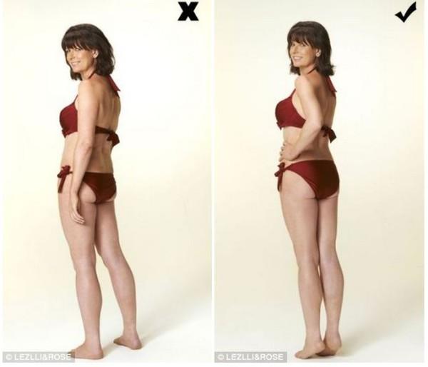 Jak pozować by wyjść ładnie na zdjęciach - zgrabne nogi