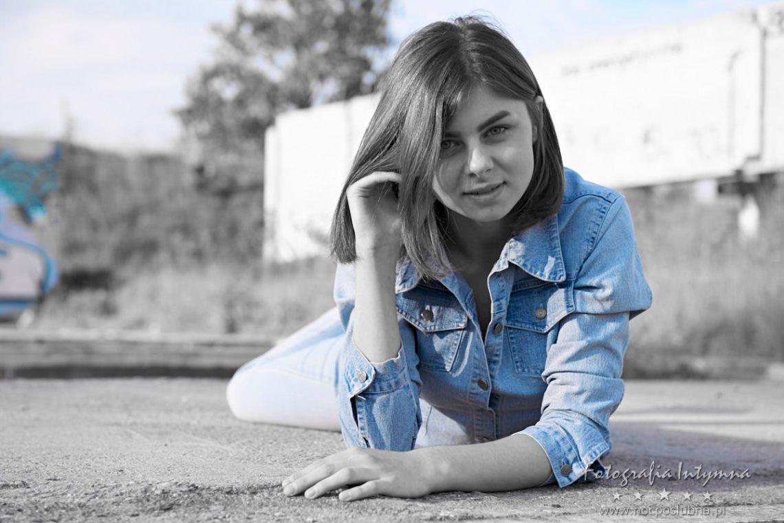 Kolorowanie zdjęć - uwypuklenie koloru niebieskiego