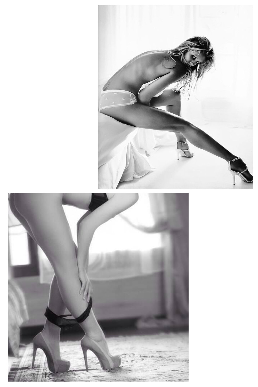 Wydłużenie nóg przez odpowiednia pozę