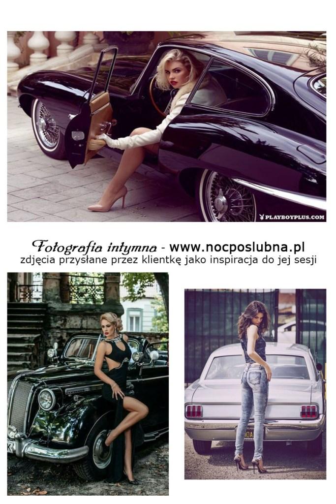 Piękne kobiety i szybkie samochody