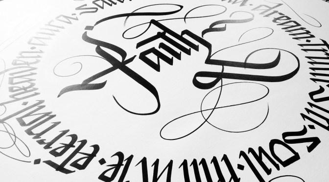 How do you CALLIG* Calligraphy that is** The Wonderful World of…*** #SimonSilaidis #NoCriticsJustArtists