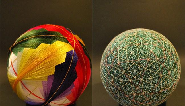 The Art of… 'Embroidery', the wonderful world of-The Temari Spheres tradition* #NoCriticsJustArtists
