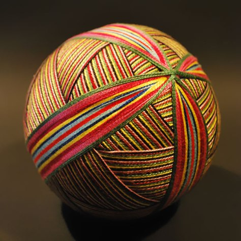 Embroidered Temari Balls
