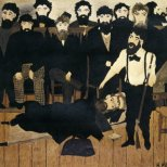 The Trial of John Brown by Horace Pippin
