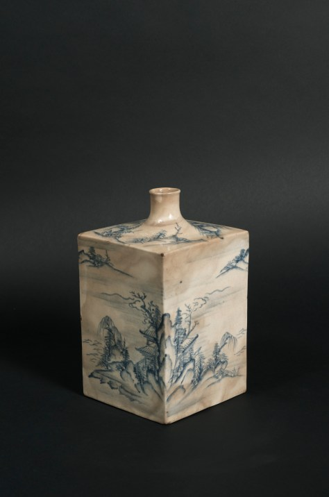 Carole Davenport (New York, NY) Tangen Satsuma Tokkuri, sake bottle Middle Edo period, Kyushu, Japan