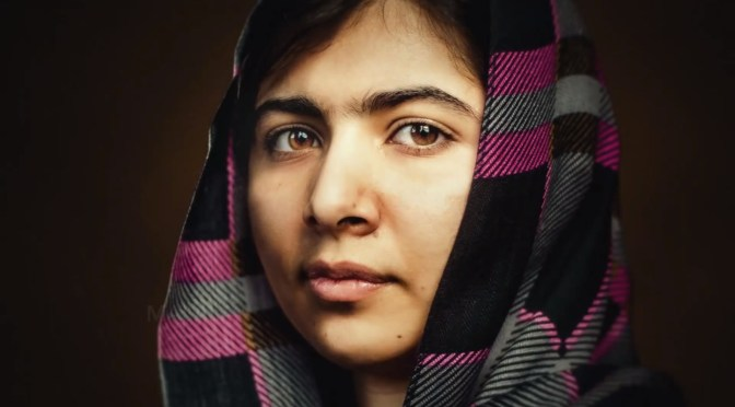 The Art of Freedom: Meet Nobel Prize Recipient & Young Pakistani Activist, ملالہ یوسف زئی  ملاله یوسفزۍ‎ (Malala Yousafzai) #NoCriticsJustArtists #StrongerThan