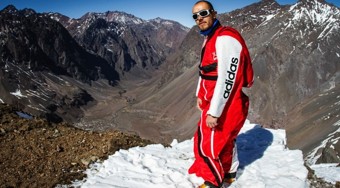 Art In Reflection: Chilean Base Jumper, Ramón Rojas #NoCriticsJustArtists