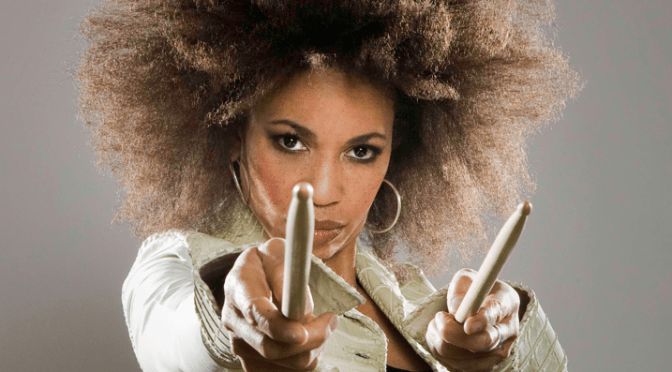 Meet Fusion Jazz & Rock Percussionist(Mega Drummer), Cindy Blackman-Santana @drumstress #NoCriticsJustArtists