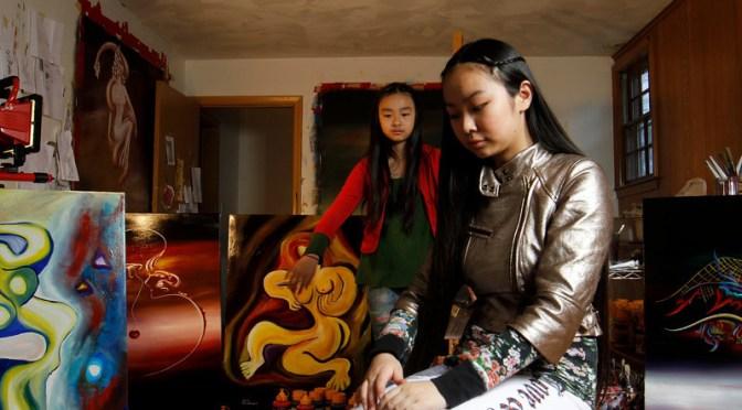 Meet Young artists, Victoria Yin & Zoe Yin #NoCriticsJustArtists