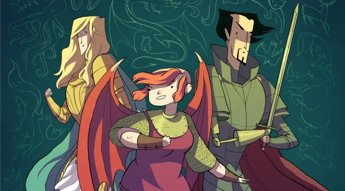 NCJA *Comic Book of The Month: 'NIMONA' by Noelle Stevenson A.K.A @Gingerhazing #NoCriticsJustArtists #ComicBook #Nimona