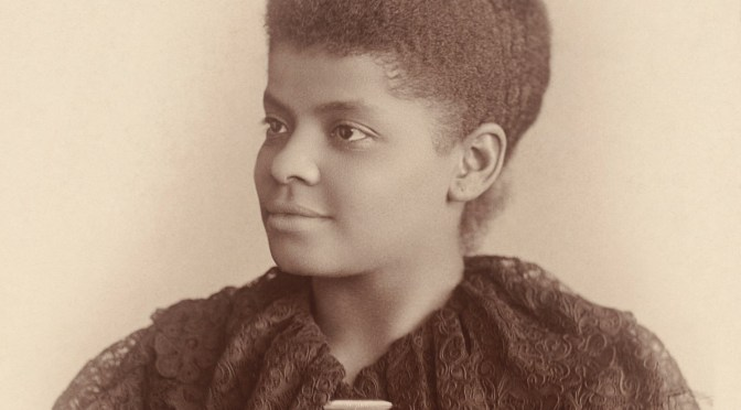 Art In Reflection:  African-American Journalist-Suffragist, Ida Bell Wells #NoCriticsJustArtists #ArtInReflection