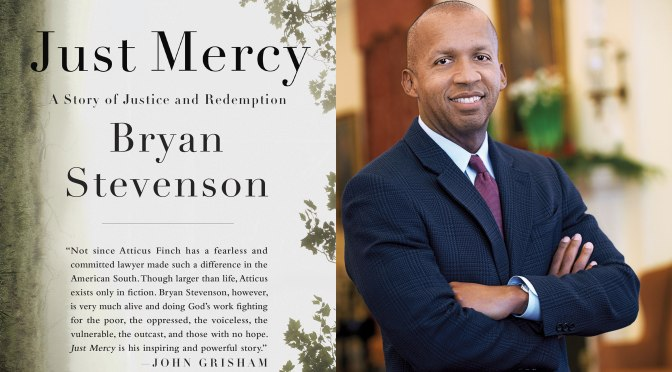 NCJA Book Of The Month: 'Just Mercy' by Bryan Stevenson cc: @Eji_Org #NoCriticsJustArtists
