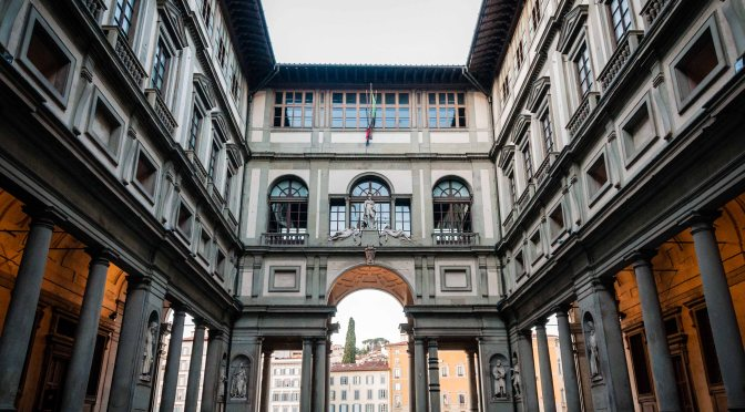 Global Gallery of The Month: #Galleria Degli #Uffizi in Central Florence, Italy #NoCriticsJustArtists