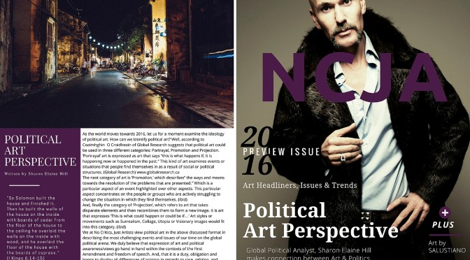 Check out The N C J A #Magazine – 2016 #PreviewIssue #NoCriticsJustArtists