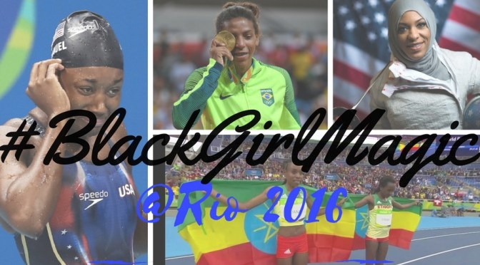 #Global #BlackGirlMagic @Rio2016 @Rio2016_EN #Rio2016 #NoCriticsJustArtists