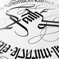 How do you CALLIG* Calligraphy that is** The Wonderful World of...*** #SimonSilaidis #NoCriticsJustArtists