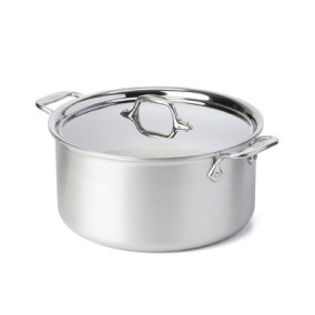 all clad 8 qt stock pot