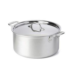 all clad 8 qt stock pot