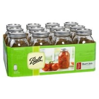 dozen canning jars
