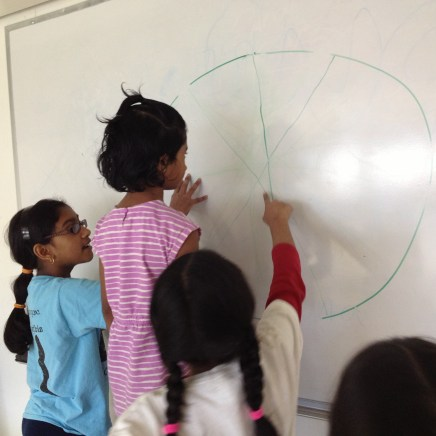 sharing the white board