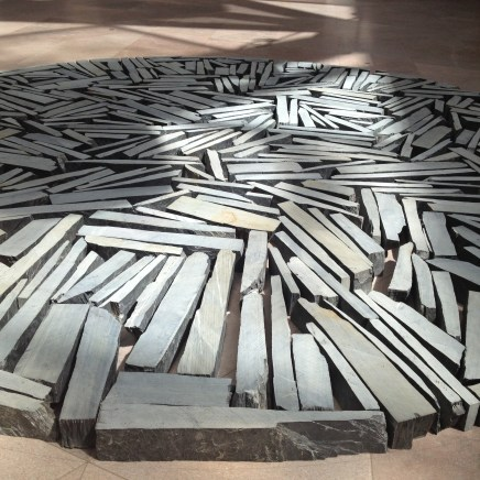 Richard Long piece at the NGA