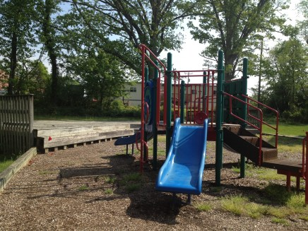 Playground and stage
