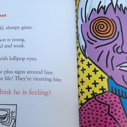Inside the Keith Haring book