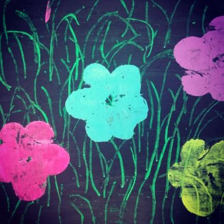 Warhol flowers